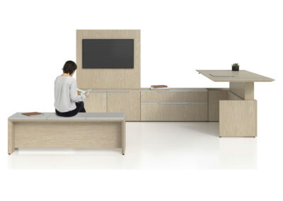 Sit-to-Stand: Casegoods – Height Adjustable