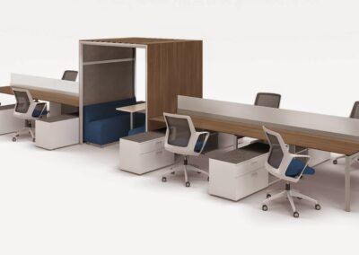 Open Area: Benching Workstations