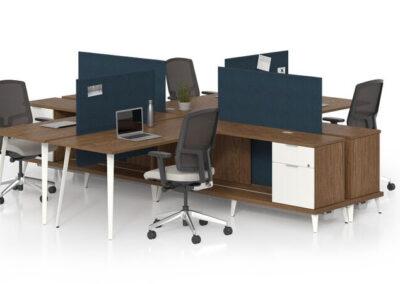 Open Area: Casegoods Workstations