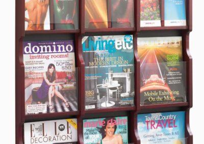 Accessories: Magazine & Literature Racks