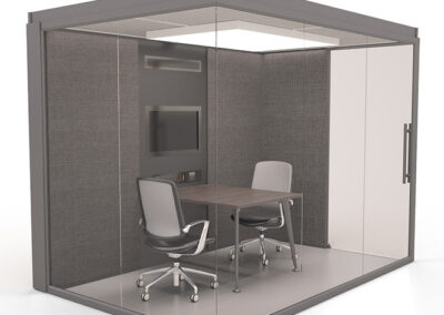 Accessories: Privacy Pods & Phone Booths