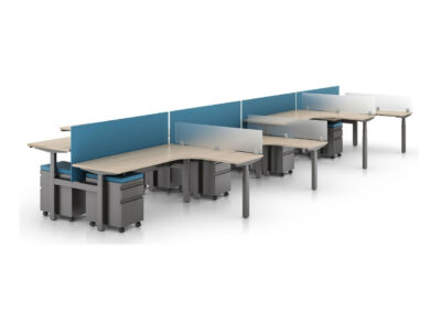 Sit-to-Stand: Benching – Height Adjustable