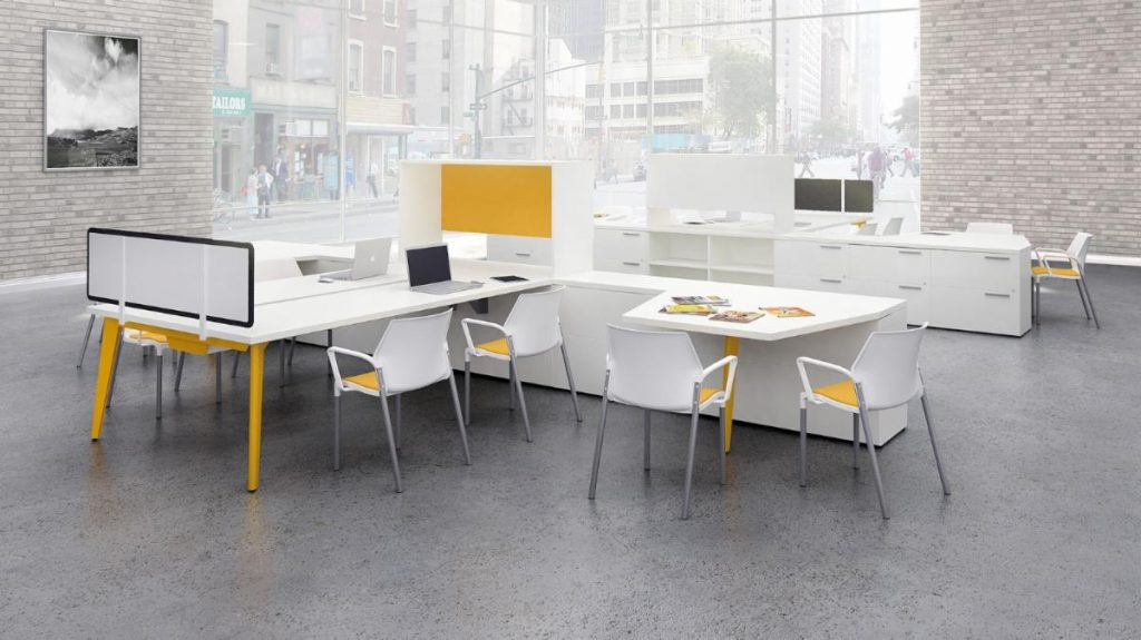 Modern corporate office space