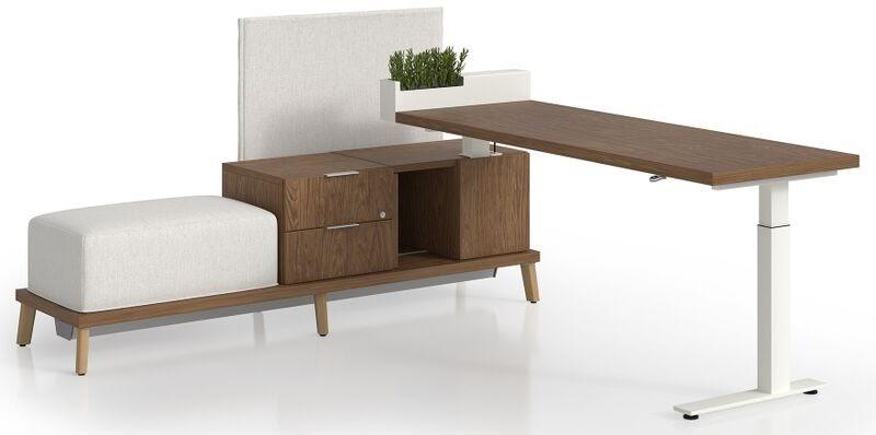 Modern Workspace Desk design